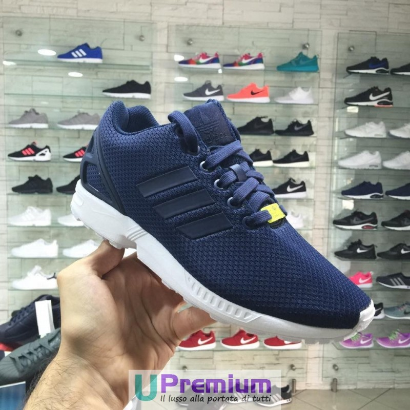 adidas originals zx flux blu