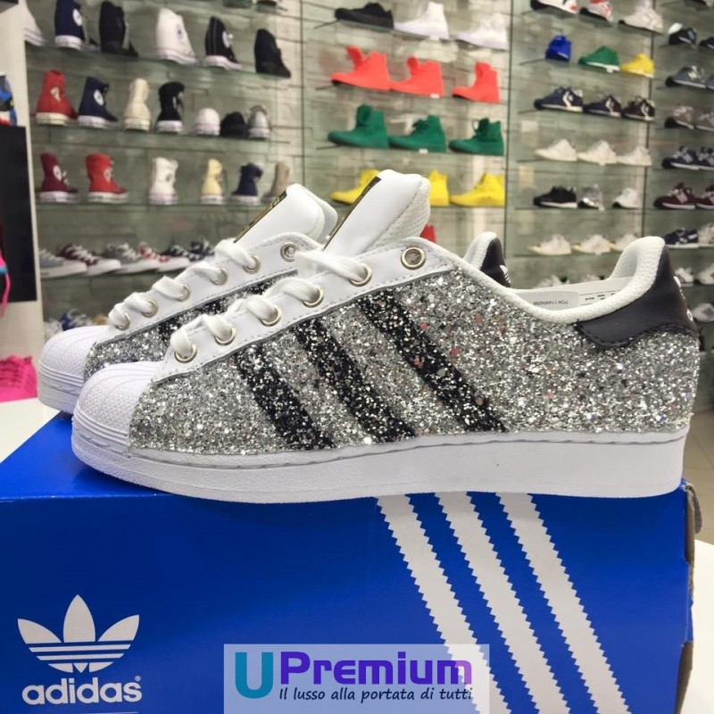 adidas superstar glitterate donna