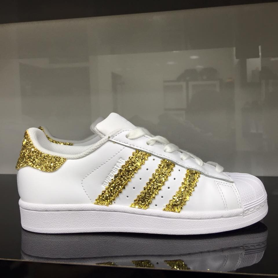 Superstar Adidas Dorate