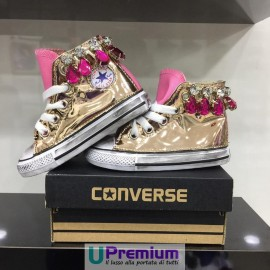 Converse All Star Jewels Rosa Cipria Specchiate