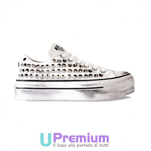 converse all star borchie platform