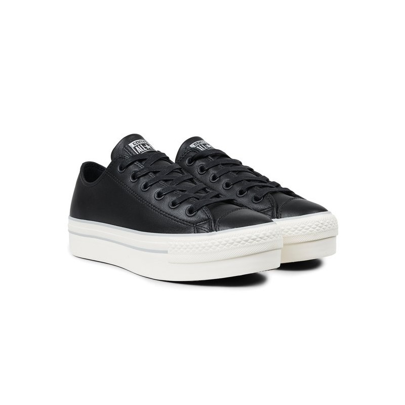converse all star platform donna nere