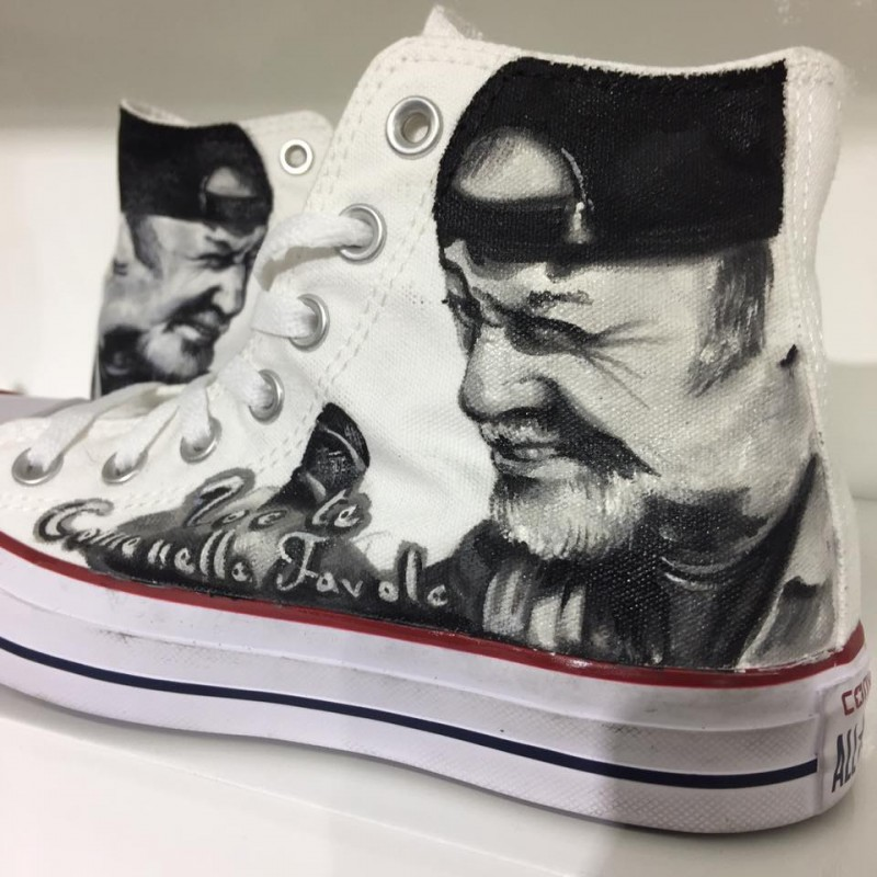 Converse All Star Vasco Rossi [io e te come nelle favole