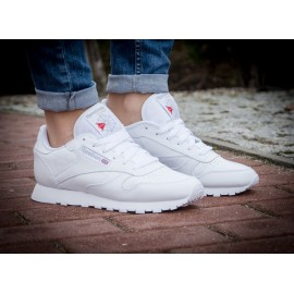 Reebok Classic Leather Tutte Bianche 2018