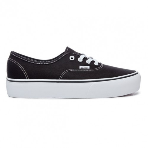 vans nere donna authentic
