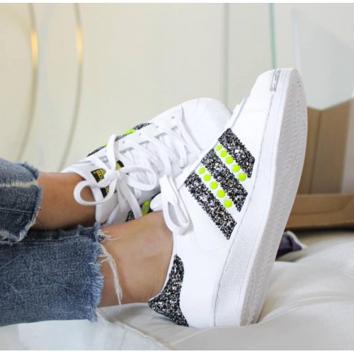 adidas superstar fluo