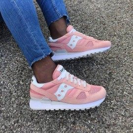 Saucony Shadow Originals Rosa Classiche Logo Bianco 2019