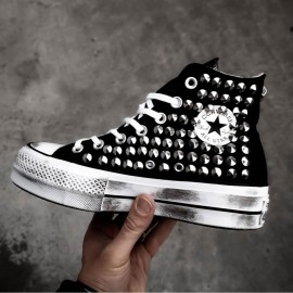 Converse All Star Platform Eva Canvas White 542046C