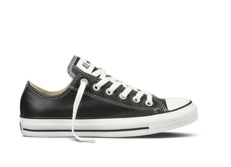 Converse All Star Chuck Taylor Nere Pelle Basse 2018