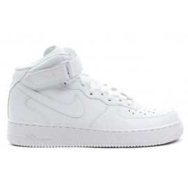 Nike Air Force 1 Mid Bianche Alte White 315123 111