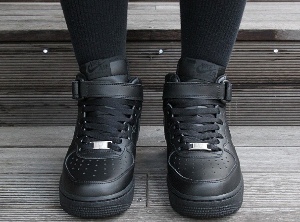 the best attitude 03f53 9f1ed nike air force 1 nere alte