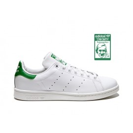 Adidas Stan Adidas Stan Smith 2014 Bianche Tallone Verde