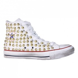 Converse All Star Dirty White Gold