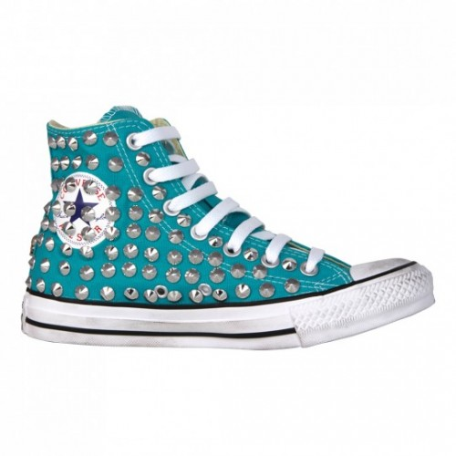 all star converse azzurre