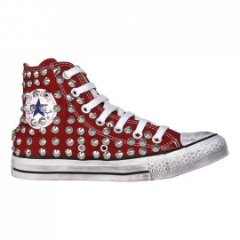 Converse All Star Dirty Bordeaux