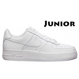 Nike Air Force 1 Junior Basse Bianche White 314192 117