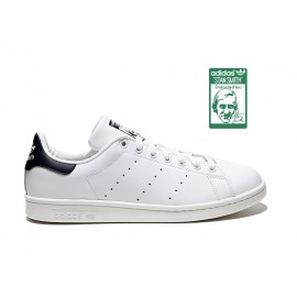 Adidas Stan Smith 2014 Bianche Tallone Blu D67362