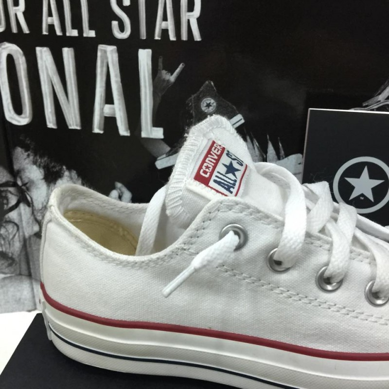 converse chuck taylor bianche basse