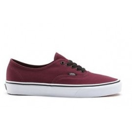 Vans Authentic Classiche Tela Bordeaux VQER5U8