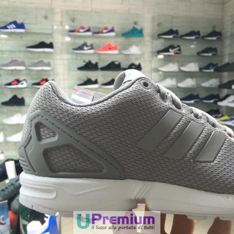 reputable site 5ec54 4f44f ... grigio blu supplemento pelle scamosciata shopping adidas zx flux scarpe  low top donna multicolore shored shored cblack 40 eu amazon rosa ...