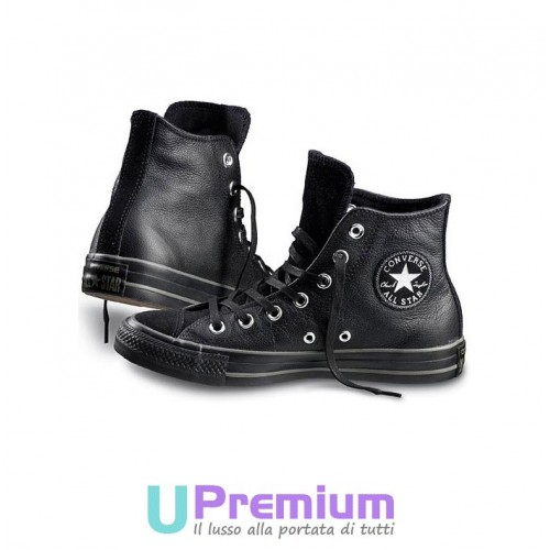 all star converse nere pelle