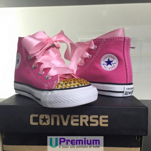 converse all star bambina fucsia