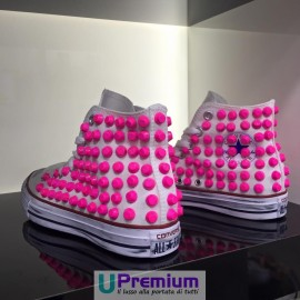 Converse All Star Stone Rosa Fluo Rock