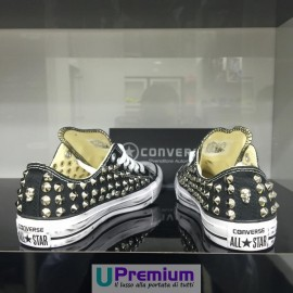 Converse All Star Black Skull Low