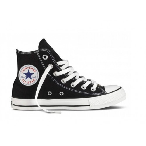 converse all star alte pelle nera