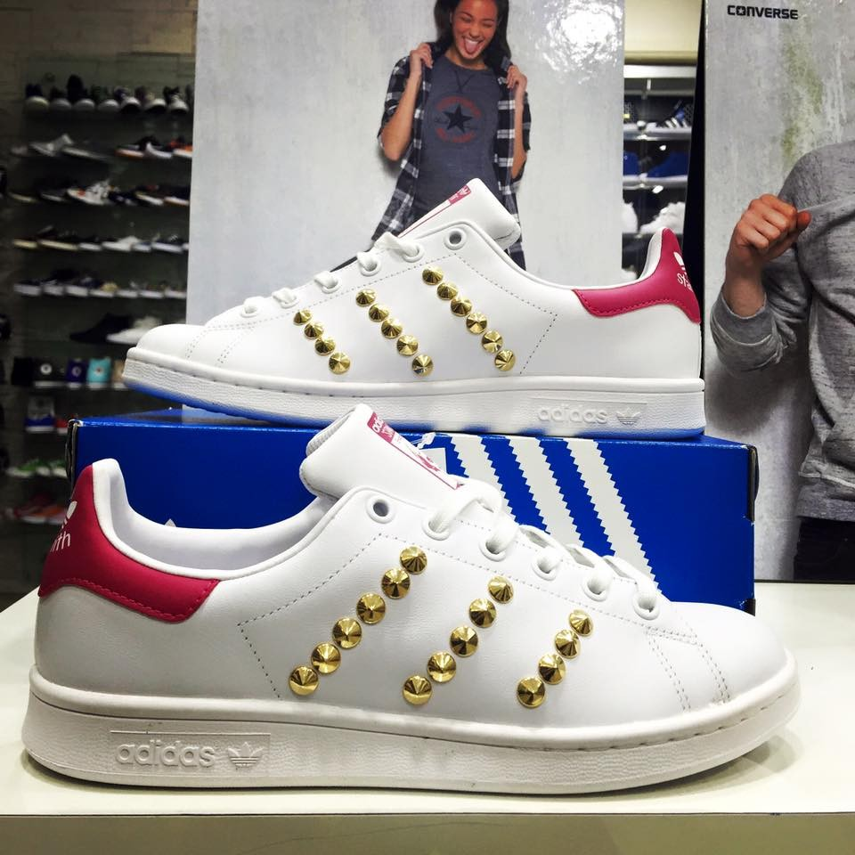 stan smith oro bambina