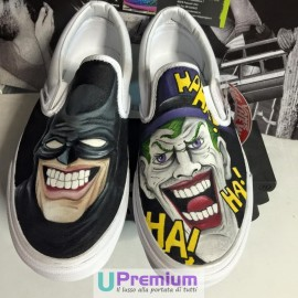 Vans Slip On Batman & Joker