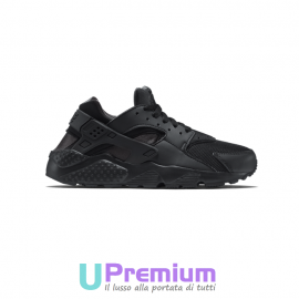 Nike Air Huarache Run Triple Black 2017
