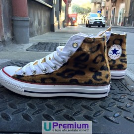 Converse All Star Leopard Star