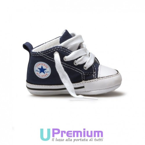 converse all star blu basse bambino