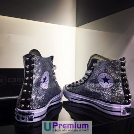 Converse All Star Glitter Nere Brillantinate
