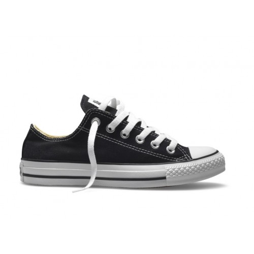 Converse All Star Classiche Nere Basse Black M9166
