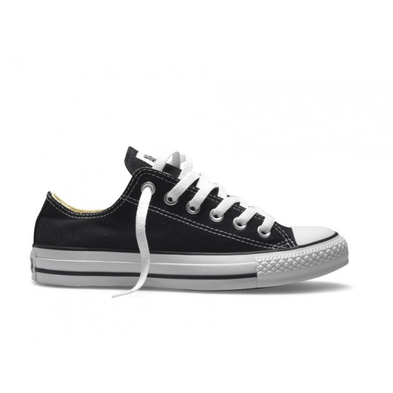 converse all star in pelle nere