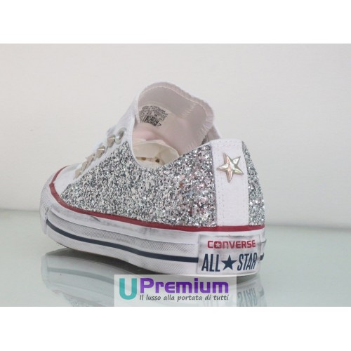 converse all star donna basse grigie