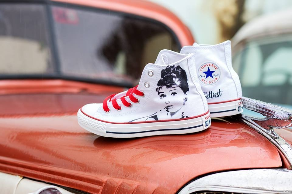 all star converse disegnate