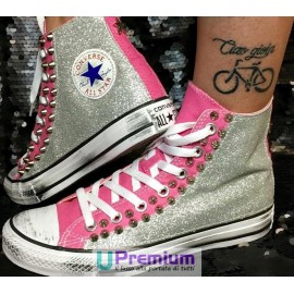 Converse All Star La Playa Rosa Glitter