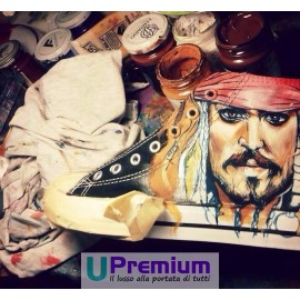 Converse All Star Pirata dei Caraibi Jack Sparrow Pirates of the Caribbean