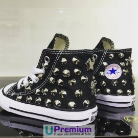 Converse All Star Bambino Borchiata Black
