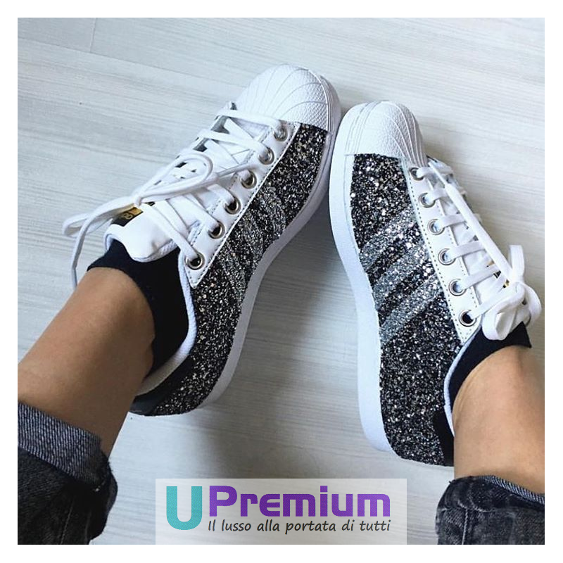 adidas superstar donna glitterate