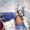 Converse All Star Stardust Argento Lucido