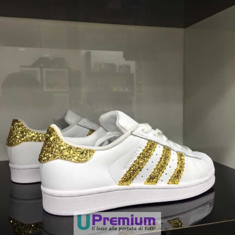 adidas superstar bianche e colotate
