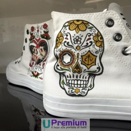 Converse All Star Calaveras & Love