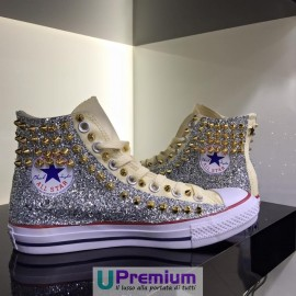 Converse All Star Champagne Glitter Gold