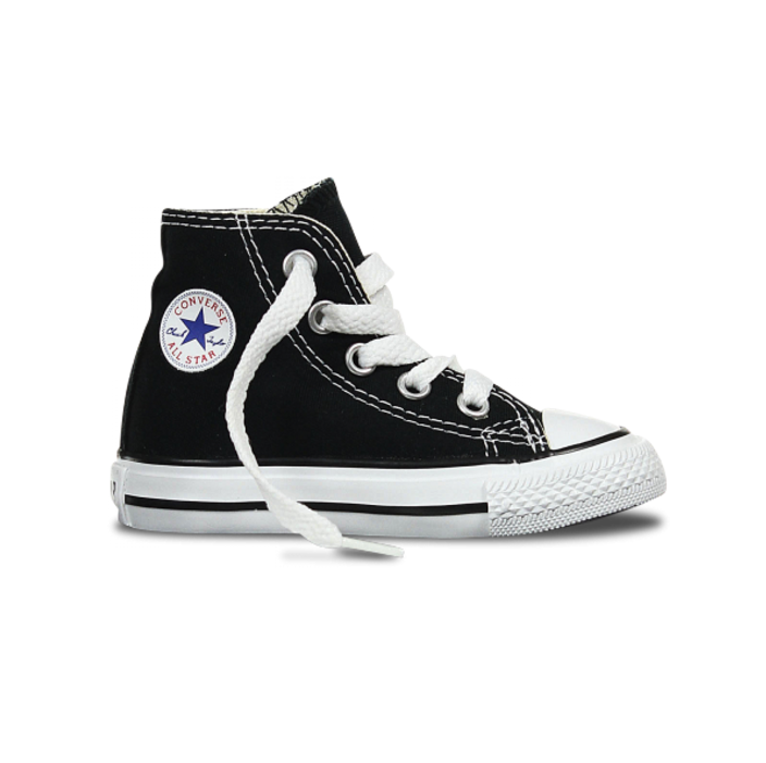 converse all star nere zeppa