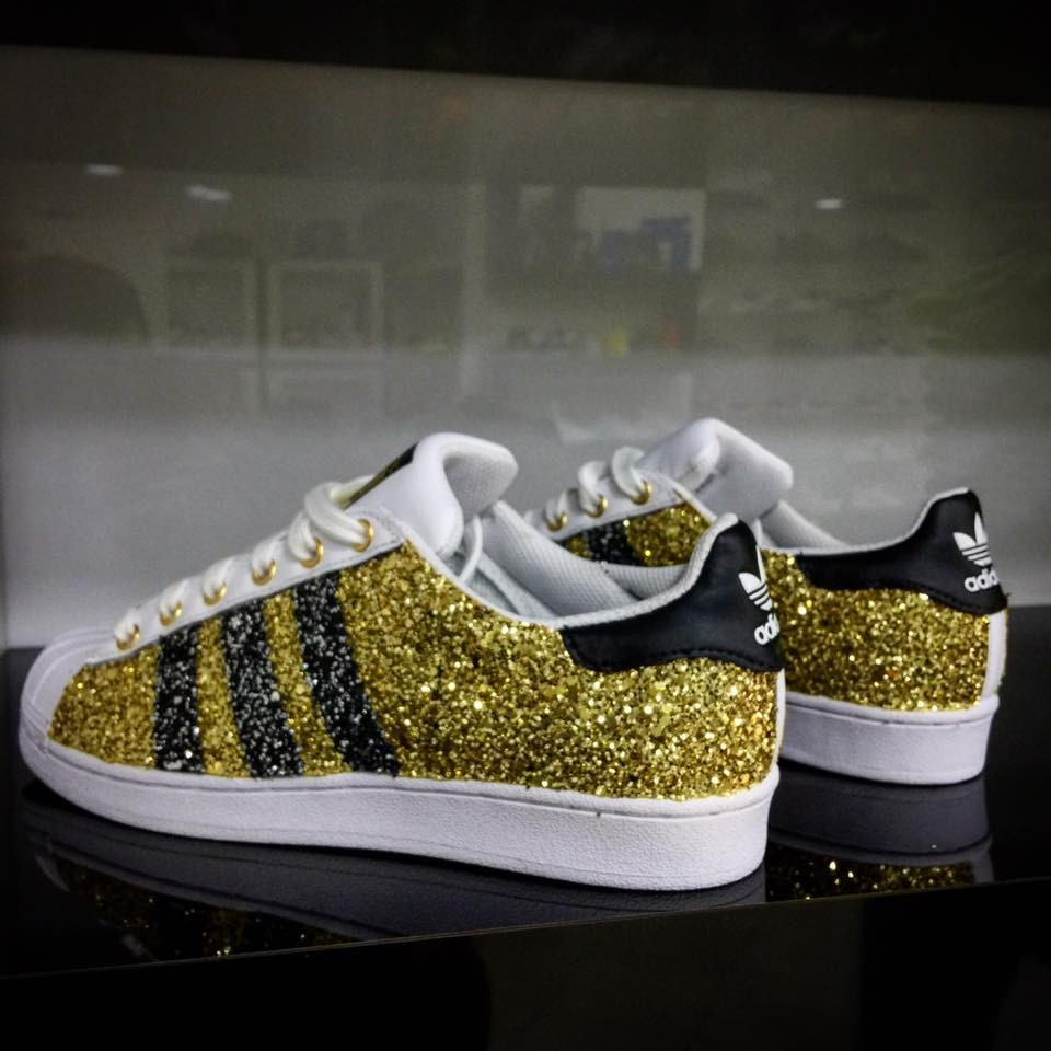 superstar glitter oro
