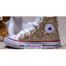 Converse All Star Glitter Oro